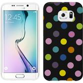 Silikonhülle für Samsung Galaxy S6 Edge Polkadot Design:13