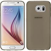 Silikon Hülle Galaxy S6 Slimcase schwarz