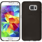 Silikon Hülle Galaxy S6 transparent schwarz Case