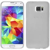 Silikon Hülle Galaxy S6 X-Style clear + 2 Schutzfolien