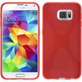 Silikon Hülle Galaxy S6 X-Style rot
