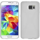 Silikon Hülle Galaxy S6 X-Style weiß