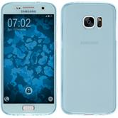 Silikon Hülle Galaxy S7 360° Fullbody hellblau