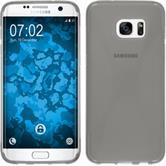 Silikonhülle für Samsung Galaxy S7 Edge X-Style grau