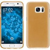 Silikon Hülle Galaxy S7 Iced gold