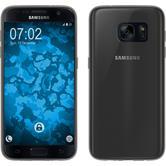 Silikon Hülle Galaxy S7 Slimcase grau