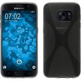 Silikon Hülle Galaxy S7 X-Style grau