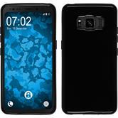 Silikon Hülle Galaxy S8 Active  schwarz Case
