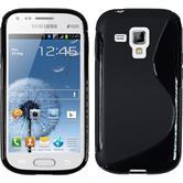 Silikon Hülle Galaxy S Duos S-Style schwarz