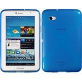 Silikonhülle für Samsung Galaxy Tab 2 7.0 X-Style blau