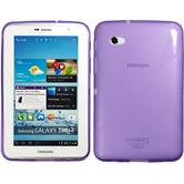 Silicone Case for Samsung Galaxy Tab 2 7.0 X-Style purple