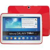 Silikonhülle für Samsung Galaxy Tab 3 10.1 X-Style rot
