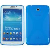 Silikon Hülle Galaxy Tab 3 7.0 X-Style blau