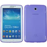 Silicone Case for Samsung Galaxy Tab 3 7.0 X-Style purple