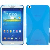 Silikonhülle für Samsung Galaxy Tab 3 8.0 X-Style blau