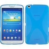 Silicone Case for Samsung Galaxy Tab 3 8.0 X-Style blue