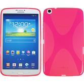 Silicone Case for Samsung Galaxy Tab 3 8.0 X-Style hot pink