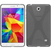 Silikon Hülle Galaxy Tab 4 7.0 X-Style grau