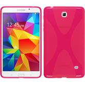 Silicone Case for Samsung Galaxy Tab 4 7.0 X-Style hot pink
