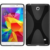 Silicone Case for Samsung Galaxy Tab 4 7.0 X-Style black