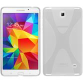 Silicone Case for Samsung Galaxy Tab 4 7.0 X-Style transparent