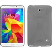 Silicone Case for Samsung Galaxy Tab 4 8.0 X-Style gray