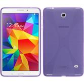 Silicone Case for Samsung Galaxy Tab 4 8.0 X-Style purple