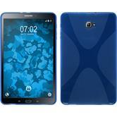 Silikon Hülle Galaxy Tab A 10.1 (2016) X-Style blau