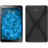 Silikonhülle für Samsung Galaxy Tab A 10.1 (2016) X-Style grau