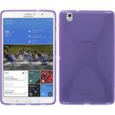 Silicone Case for Samsung Galaxy Tab Pro 8.4 X-Style purple