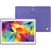 Silikon Hülle Galaxy Tab S 10.5 X-Style lila + 2 Schutzfolien