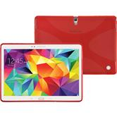 Silikon Hülle Galaxy Tab S 10.5 X-Style rot