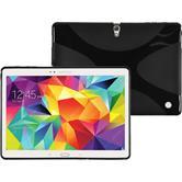 Silikon Hülle Galaxy Tab S 10.5 X-Style schwarz