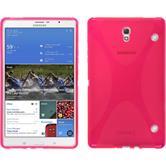 Silikon Hülle Galaxy Tab S 8.4 X-Style pink