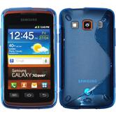 Silicone Case for Samsung Galaxy Xcover S-Style blue