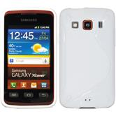 Silicone Case for Samsung Galaxy Xcover S-Style white