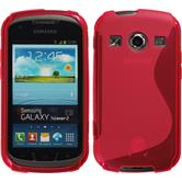 Silicone Case for Samsung Galaxy Xcover 2 S-Style hot pink
