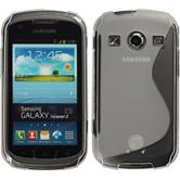 Silicone Case for Samsung Galaxy Xcover 2 S-Style transparent