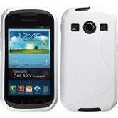 Silicone Case for Samsung Galaxy Xcover 2 S-Style white