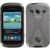 Silicone Case for Samsung Galaxy Xcover 2 X-Style transparent