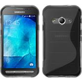 Silicone Case for Samsung Galaxy Xcover 3 S-Style gray