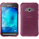 Silicone Case for Samsung Galaxy Xcover 3 transparent pink