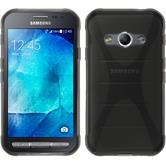 Silicone Case for Samsung Galaxy Xcover 3 X-Style gray