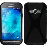 Silicone Case for Samsung Galaxy Xcover 3 X-Style black