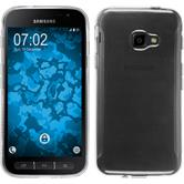 Silikon Hülle Galaxy Xcover 4 transparent Crystal Clear