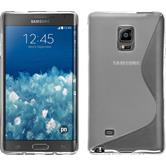 Silikonhülle für Samsung Galaxy Note Edge S-Style clear