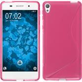 Silikonhülle für Sony Xperia E5 S-Style pink