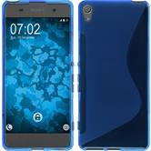 Silikonhülle für Sony Xperia XA S-Style blau