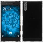 Silikon Hülle Xperia XZ Shock-Proof clear
