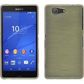 Silikon Hülle Xperia Z3 Compact brushed gold